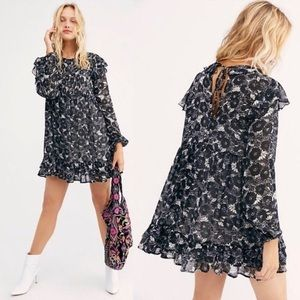 NWOT Free People These Dreams Mini Dress Size S